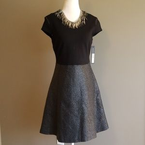 NWT Andrew Marc black dress